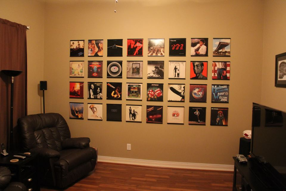 Records On Walls
